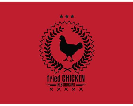 fried chicken restaurant Ilustração
