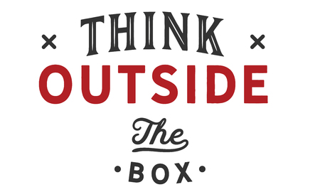 Think outside the box Banco de Imagens - 113633101