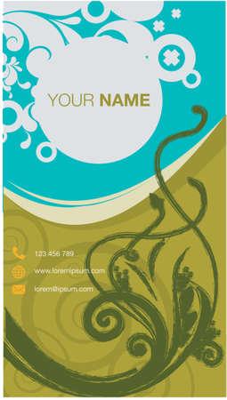 modern name card business company