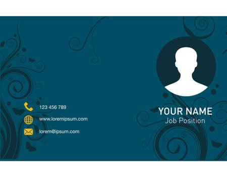 modern name card business company Vettoriali