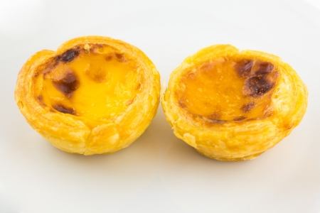 The Delicious egg tart photo