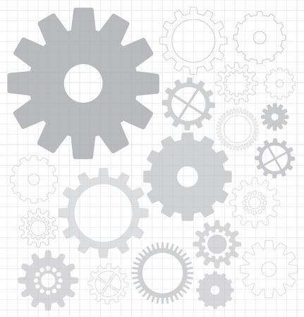 gears Illusztráció