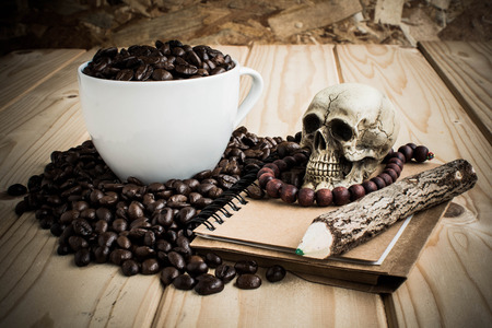 coffee skull stock photos & pictures. royalty free coffee skull