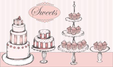 pastel: Colecci�n de tortas, cupcakes y cake pops