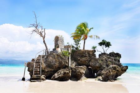 boracay: Willys rock on island Boracay, Philippines