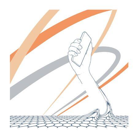 smart phone: Technology of smart phone 3 Illustration