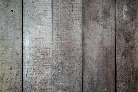 Texturas de fondo o papeles pintados de madera viejos colocados en vertical, gris y marrón claro pintados en estilo retro.