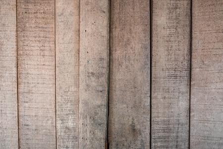 Texturas de fondo o papeles pintados de madera viejos colocados en vertical, gris y marrón claro pintados en estilo retro. Foto de archivo