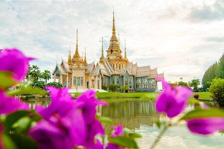 non: Wat Non Kum Nakhon Ratchasima Thailand Stock Photo