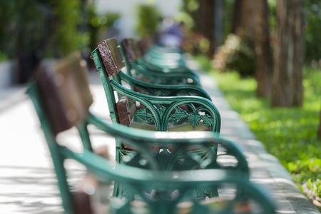 pleasant: bench in pleasant park