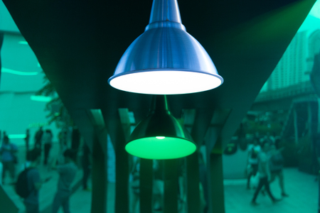 departmentstore: Modern light decor in abstract style