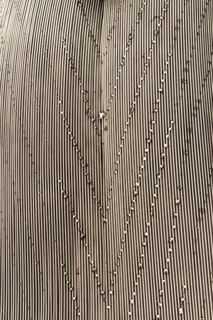 solder: surface of steel weld, art of wire solder Stock Photo