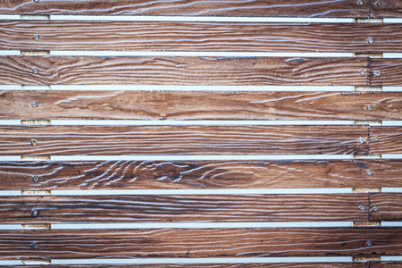 palisade: new wooden planks fence palisade  can use like vintage natural design element Stock Photo