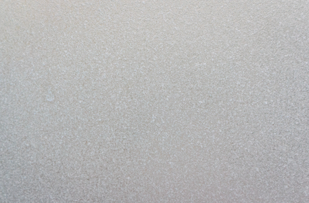 Dusty surface of a window glass. Stock Photo
