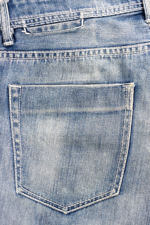 jeans pocket: blue jeans pocket