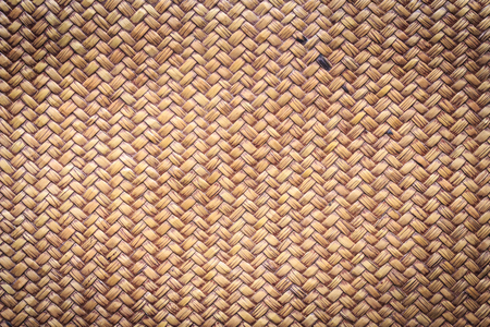 Bamboo rattan weave texture and background