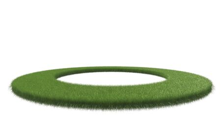 grass isolated: 3D grass isolated on white background Stock Photo
