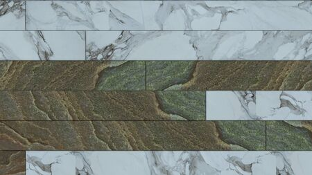 White marble and brown  texture background  high resolution bright and luxurious,   stone floor