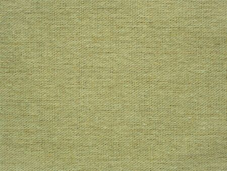 Close-up of hessian sackcloth woven vintage style material texture pattern background in beige color for used as backdrop or background