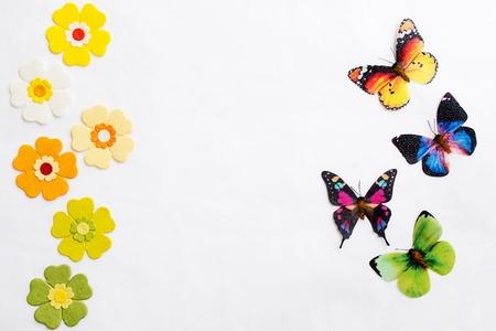 Artificial flowers paper Reklamní fotografie