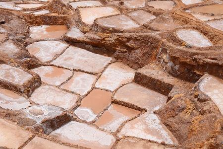 evaporacion: Inca granja antiguas salinas producidas por evaporaci�n en Per�