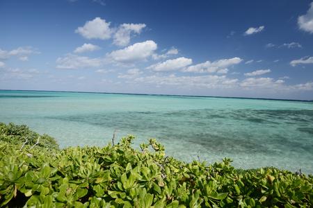 Beach near Ikema Island in Miyakojima, Okinawa