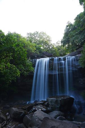 Tung na muang waterfall in Thailand