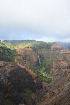 waimea canyon in kauai, hawaii