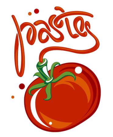 Tomato paste Vector