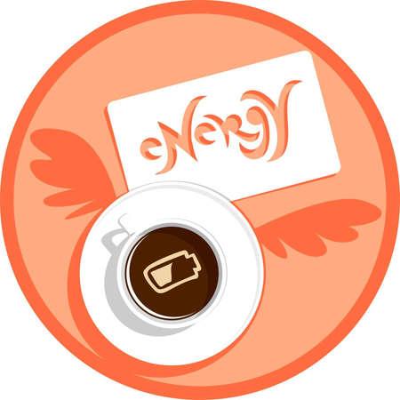 coffee energy charge Stock Vector - 11674025