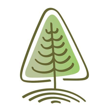 Vettore, albero stilizzato