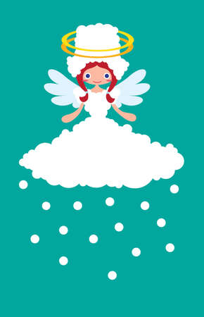 Weather Cute Angel Snowy photo