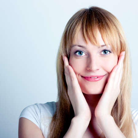 beautiful young woman smiling Stock Photo - 11322175