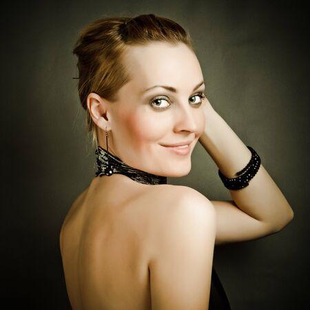 Beautiful woman Fashion art photo photo
