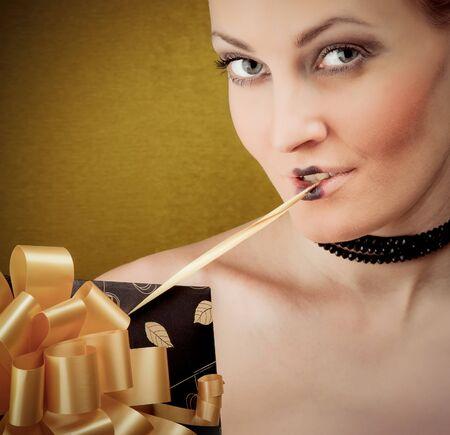 Photo of young beautiful woman photo