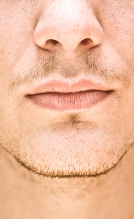male face photo