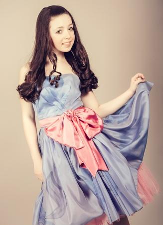 lewis: portrait of a sensual fantasy girl Stock Photo