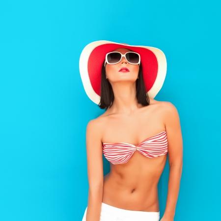 Summer beauty girl
