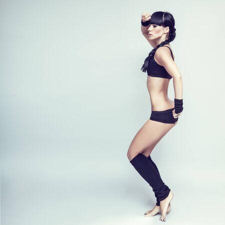 stretchy: sensual girl dancer