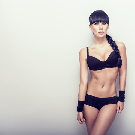 stretchy: Beautiful  fitness girl