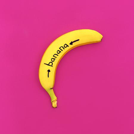 tonto: Pintado de fotos de moda de Banana Minimalismo