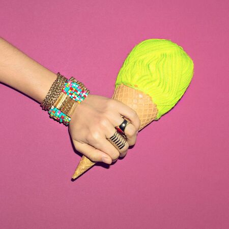Bright Summer Jewelry. Bracelets and rings. Be fashion Lady.