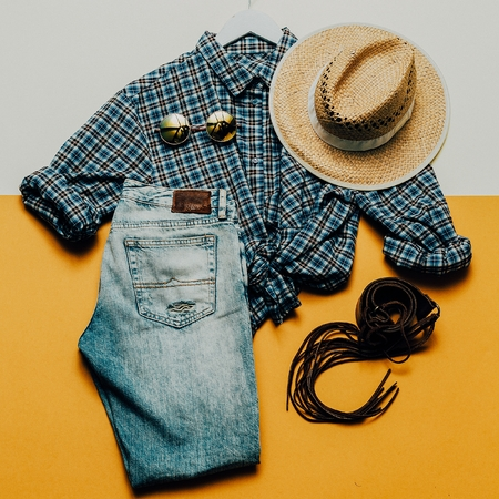 clothes interesting: Cowboy Country outfit. Fashionable accessories. fashion style