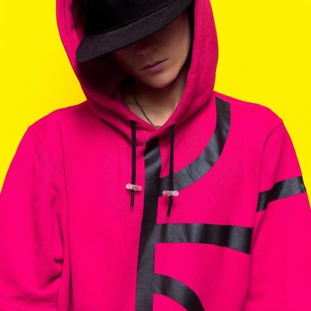 urban fashion: Fashion Hip Hop Girl. Urban style