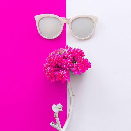 tonto: Gafas de sol accesorio Minimal Art Design