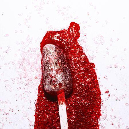 Melted ice cream minimal art fashion