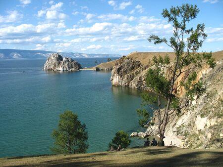 siberia: Siberia. Baikal lake. Olhon island.