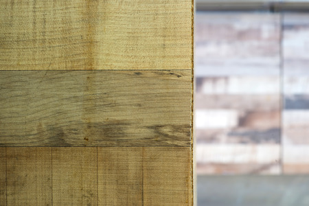 wood texture with selective focus on foreground