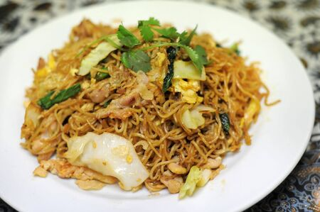 Bakmi goreng (Indonesian-style fried noodles)
