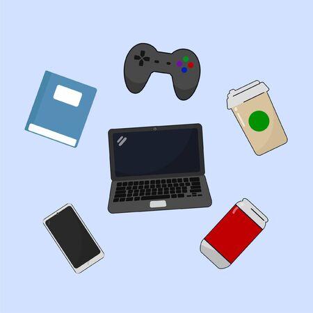 Teen Basic Object Stock Illustratie
